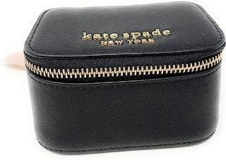 Kate Spade 凯特丝蓓 New York 珠宝收纳盒 紫色十字纹皮革