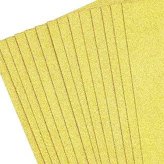金色闪光卡片纸 40 张 A4 闪耀工艺纸 DIY 派对装饰 250GSM