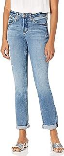 Silver Jeans Co. 女士波纹高腰修身牛仔裤