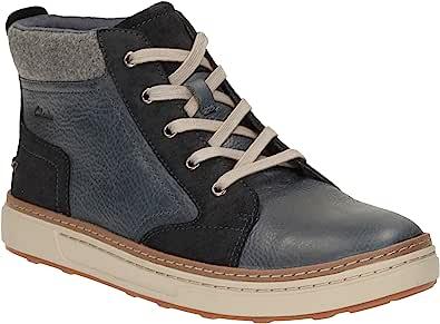 Clarks 男士 Lorsen Mid High 运动鞋