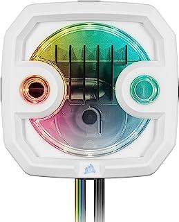 CORSAIR Hydro X 系列 XD3 RGB 泵/平衡容器组合 - 白色