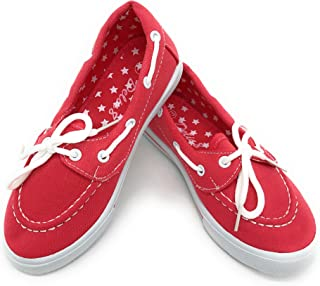 Blue Berry EASY21 女式平底帆布休闲儿童运动鞋