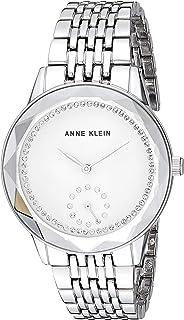 Anne Klein 安妮 克莱恩礼服手表(型号:AK/3506BKGB)