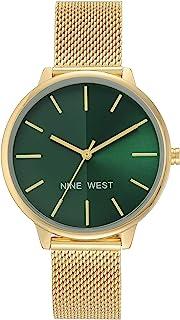 Nine West 正装手表(型号:NW/1980GNGB)