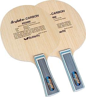 バタフライ(Butterfly) 乒乓球球拍 Viscaria 横握式底板 进攻用 加入特殊材料 30044