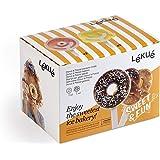 Lékué 3400255 椒盐脆饼和甜甜圈冰淇淋,硅胶