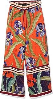 GRACE CONTINENTAL 裤子 热带花裤 女士 0320211055
