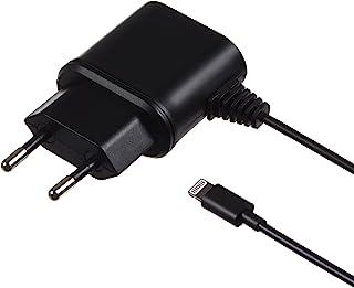 Kit 1 A Micro USB 电源充电器充电线带有双针欧盟电源插头和微型 USB 接口兼容大多数智能手机和 MP3 设备,包括三星 Galaxy S2/S3/S4/S5/S6/Edge、Galaxy Note 2/3、Sony Xperi...