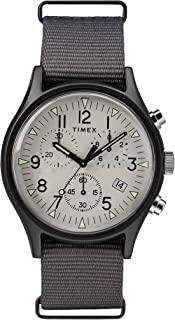 Timex 天美时 男式计时石英手表尼龙表带 TW2T10900