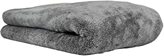 Chemical Guys MIC_1995 Woolly Mammoth 超细纤维烘干机毛巾(63.5 厘米 x 91.4 厘米)),灰色