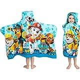 Franco 儿童浴室和海滩用连帽浴巾 柔软的棉质毛巾布,24英寸x 50英寸(约60.96*127厘米),汪汪队立大功…