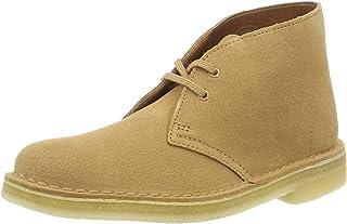 Clarks 原创女式261227394沙漠靴,棕色