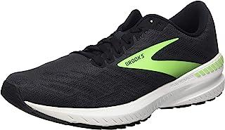 Brooks 男式 Ravenna 11 跑鞋,乌木色/黑色/壁虎色,38 码