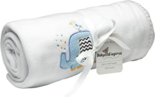 Baby Elegance Sky Applique Fleece Blanket (120 x 150 cm)