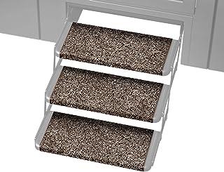 Prest-O-Fit 3 件装 2-4020 Wraparound Plus RV 阶梯地毯浓缩咖啡色 20 英寸(约 50.8 厘米)宽