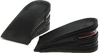 SINY 2.5 英寸(6 厘米)3 层鞋内底男女气垫增高大大码垫脚跟升降套件