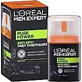 L'Oreal 欧莱雅 Men Expert Pure Power 男士抗斑保湿霜,50毫升 (新老包装更替)