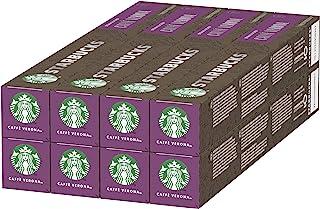 STARBUCKS 星巴克 CAFFÈ VERONA 星巴克胶囊咖啡 by NESPRESSO 深度烘培,80粒装(8 x 10)