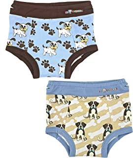 Ez Undeez 幼儿男孩内裤,加垫便盆训练三角裤,容易拉起