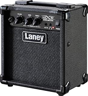 Laney LX 系列 LX10 – 吉他组合放大器– 10W – 5英寸低音炮 – 黑色