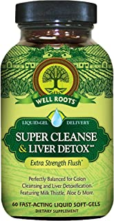 Well Roots - Colon Cleanse & Liver Detox - 60 Softgels