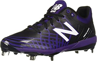 New Balance 男式 4040 V5 金属棒球鞋