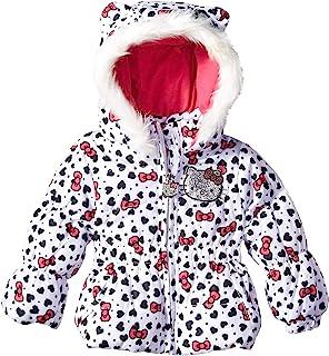 Hello Kitty 女嬰全身印花連帽羽絨服