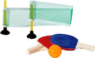 SPORTSIDE 迷你乒乓套装,多色 046580A - 25厘米 - 6 岁以上户外游戏,046560