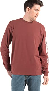 Timberland 添柏岚 PRO 男式 A1HRV 打底板长袖 T 恤,带徽标