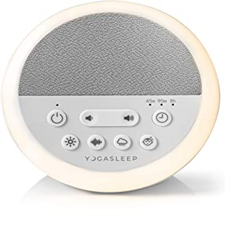 Yogasleep Nod 声音机和夜灯定时器摇篮曲声音机适用于旅行、办公室隐私,成人和婴儿** 101 夜间试用