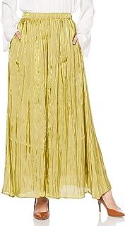 Snidel 缎面裙裤 SWFP204129 女士