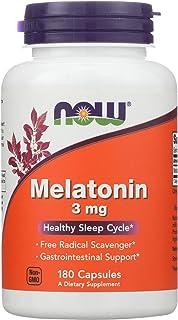 NOW Foods - Melatonin 3 镁。180 胶囊