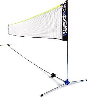 ZSIG Pro 羽毛球网 - 6 米,便携,教练质量