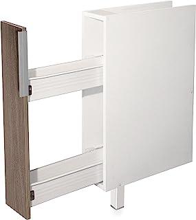 Berlioz Creations - 厨房储物盒 - 香料树 - 颗粒板 - 灰褐色橡木 - 15 x 52 x 83 厘米