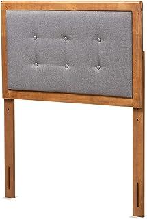 Baxton Studio 181-11164-AMZ 床头板,深灰色/核桃色