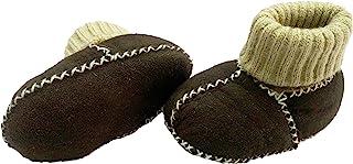 Altabebe MT4032 L - 03 小羊皮婴儿鞋,6 - 12 个月,尺码 18,深棕色
