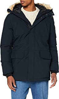 Schott NYC 男式派克大衣