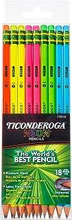 TICONDEROGA 铅笔 Box of 18 Neon