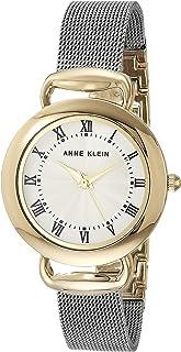 Anne Klein 安妮克莱因 女士网眼手链手表