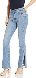 DL1961 女式 Bridget 高腰 Instasculpt 喇叭牛仔裤
