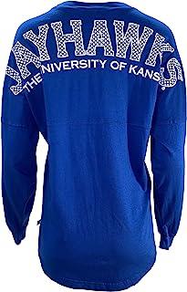 官方 NCAA alabama Crimson Tide UA 卷 Tide 女式长袖 Spirit 针织 T 恤阿拉巴马大学