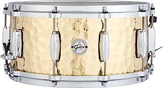 Gretsch Drums 机械鼓 小军鼓 Full Range Snare 6.5x14英寸 Hammered Brass S1-6514-BRH 【日本国内正品】