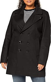 G-STAR RAW 女式衬里牛仔双排扣大衣