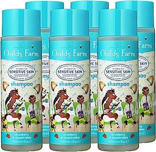 Childs Farm 洗发水,草莓和薄荷 250毫升,6件