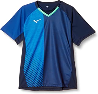 Mizuno 美津浓 乒乓球服 比赛衫 短袖 活动方便 吸汗速干 标准 JTTA认证 82JA0011