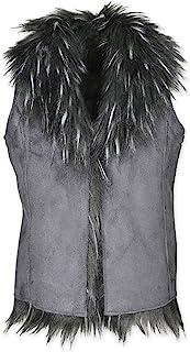 Widgeon 双面麂皮人造毛皮背心 3703 外套