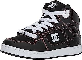 DC 女童纯色高帮滑板鞋
