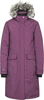 Trespass munros 防水 DLX 羽绒夹克 / 功能夹克 / 天气夹克带可拆卸帽适用于女士 ,