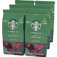 Starbucks 星巴克 Caffè Verona 深度烘焙研磨咖啡 200 克袋装(6件)