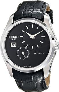 Tissot Men's T0354281605100 Analog Display Automatic Self Wind Black Watch